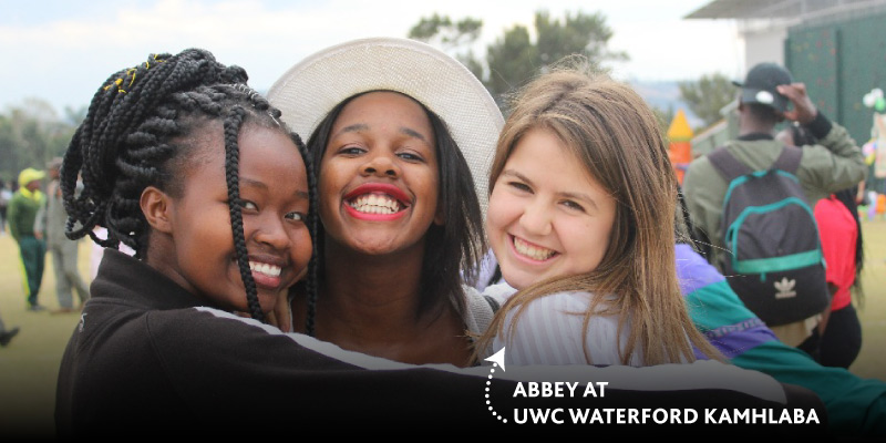 PSYL alumna and Metchosin student recalls her first year at UWC Waterford Kamhlaba