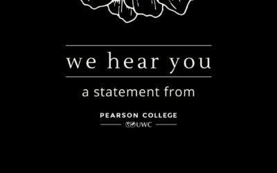 We hear you   A Statement from Ty Pile, President and Head of College