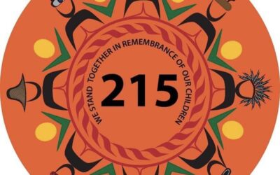 We stand together in remembrance of our children