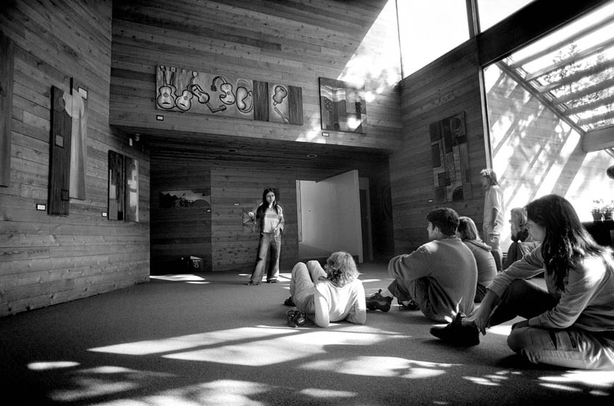 2004:Class in Max Bell Hall