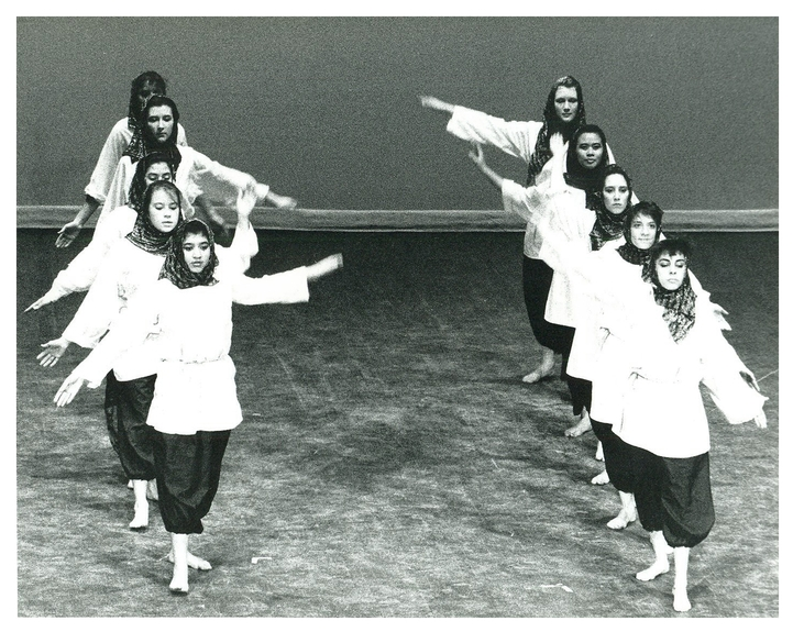 circa 1988-89:Music and dance have always been a key ingredient of campus life