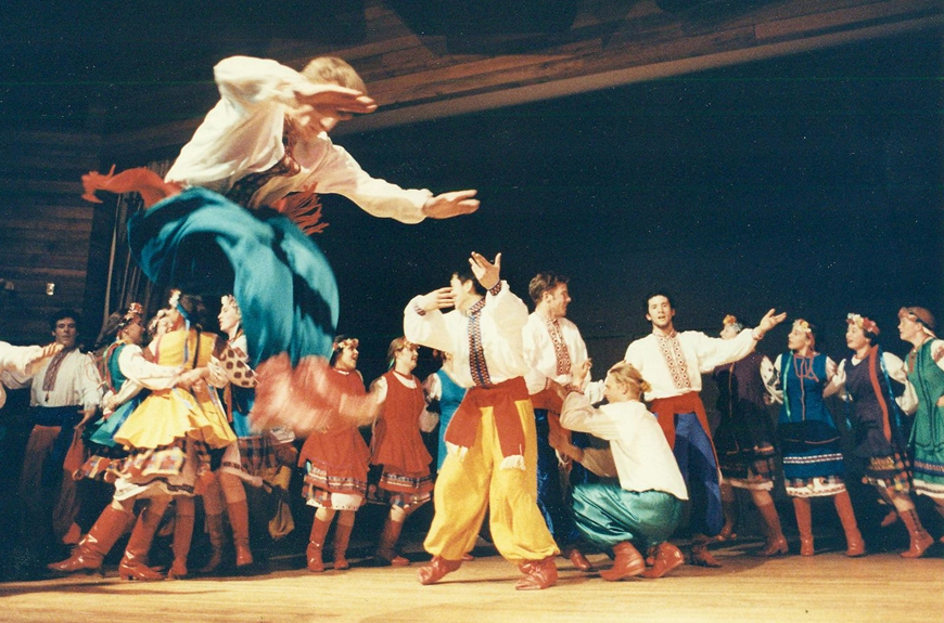 1993:One World Ukrainian folk dance