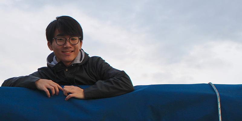Kohtaro Kosugiyama (YR41/2016, Japan) – Volunteer Extraordinaire